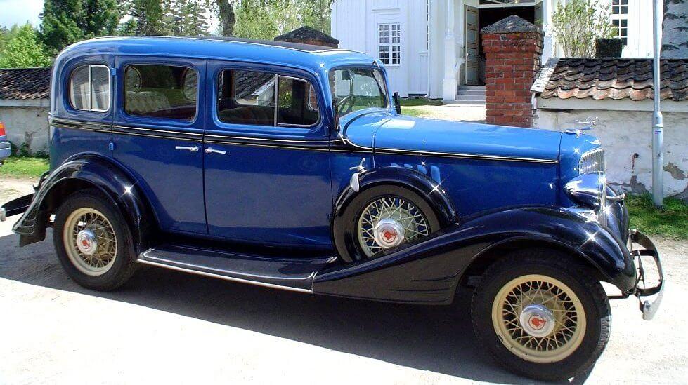 1934 Pontiac - Norges Klenodier