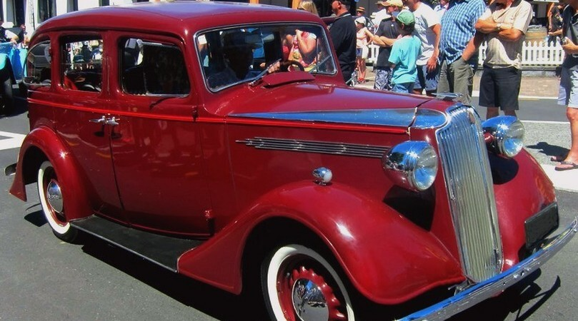 1939 Vauxhal S 4 dørs