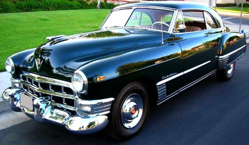 1949 Cadillac 2 dørs sedan