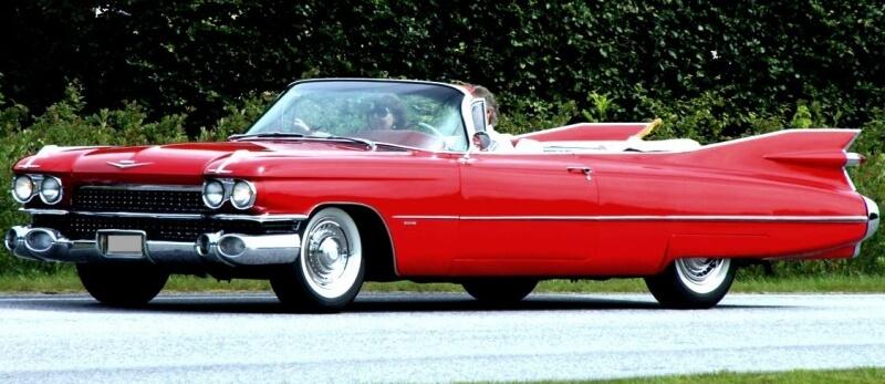 1959 Cadillac cab