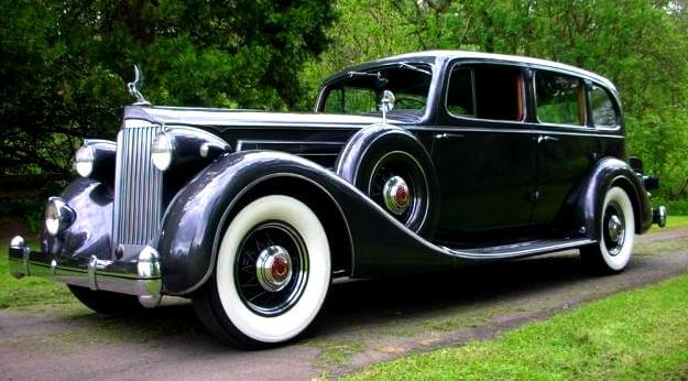 1935 Packard 7 seters Limo V-12