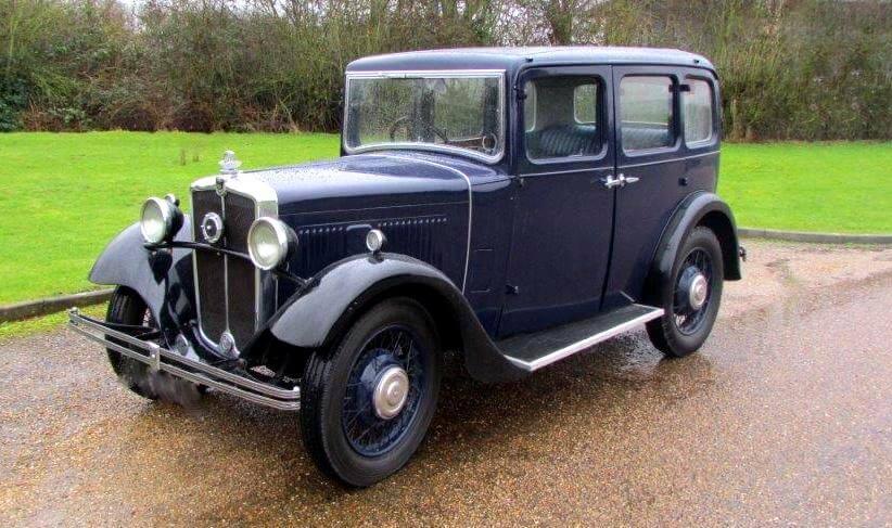 1932 Morris 4 dørs