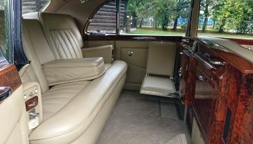 Vintage limousine med vippeseter