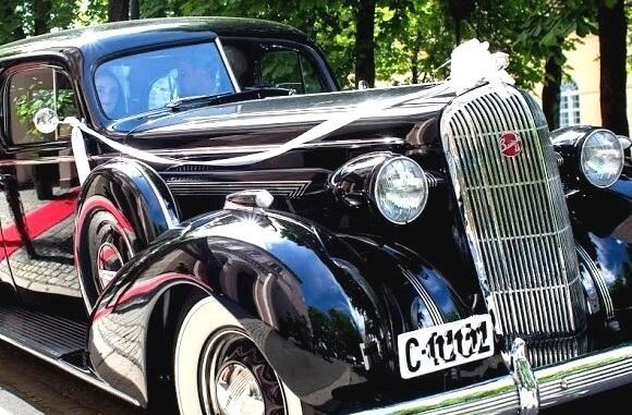 1936 Buick klar for bryllup
