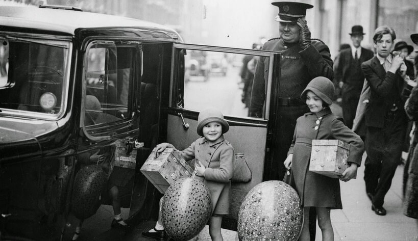 Barn med egg
