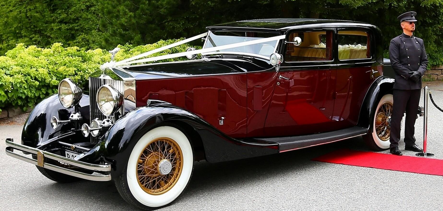 Gedigen Rolls-Royce Phantom med sjåfør leid ut til bryllup i Oslo
