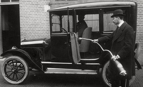 Støvsuger gammel bil