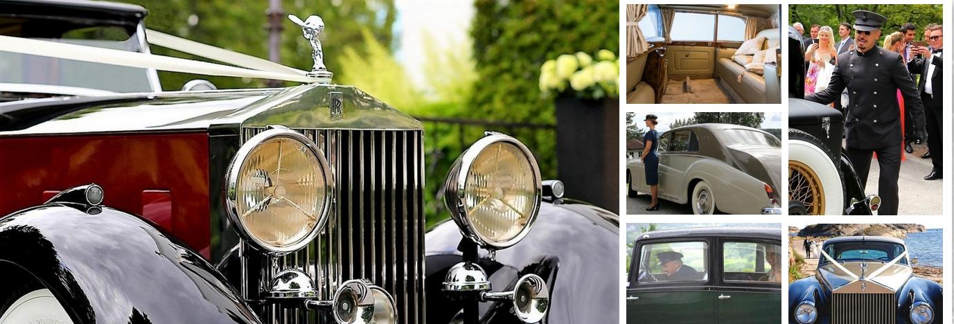 Rolls-Et flott Royce utvalg til leie i Oslo, Akershus, Buskerud, Vestfold og Østfold